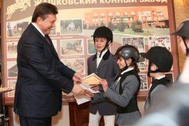 Глава держави відвідав Жашківський кінно-спортивний комплекс