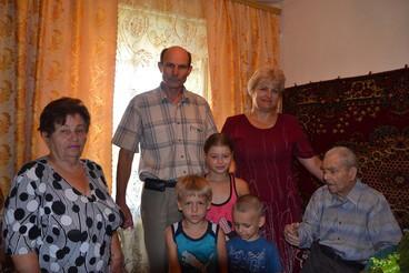 Жителя села Олександрівка Жашківського району привітали зі 100 річним ювілеєм