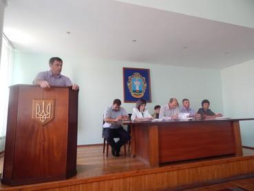 Голова районної ради взяв участь в засіданні колегії районної державної адміністрації