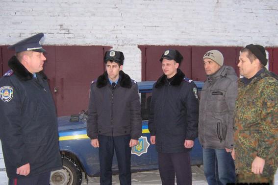 Міліція спільно з громадкістью на вулицях міста припиняє кримінальні прояви