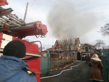 Від вогню врятовано житловий будинок та гараж