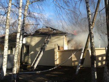 Вогнеборці ліквідували пожежу у кафе «Домашня кухня»