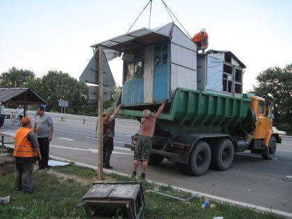 Газета «Нова»: Жашковский рынок уничтожили ночью