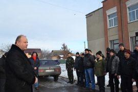 Жашківський голова пообіцяв мобілізованим, що жодний не буде обділений увагою районної влади