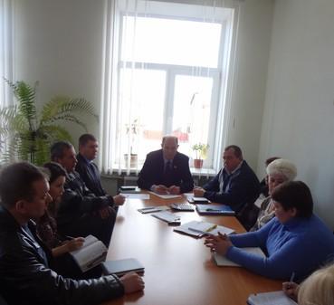 Нарада по питанню відновлення роботи Жашківського цукрового заводу