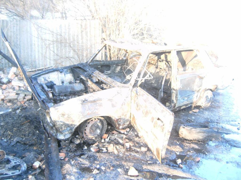 Рятувальники ліквідували пожежу надвірної споруди