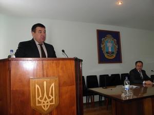 Голова Жашківської райдержадміністрації прозвітувався про роботу за 2012 рік перед депутатами районної ради