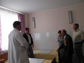 Відкрито оновлену палату для ветеранів Великої Вітчизняної війни