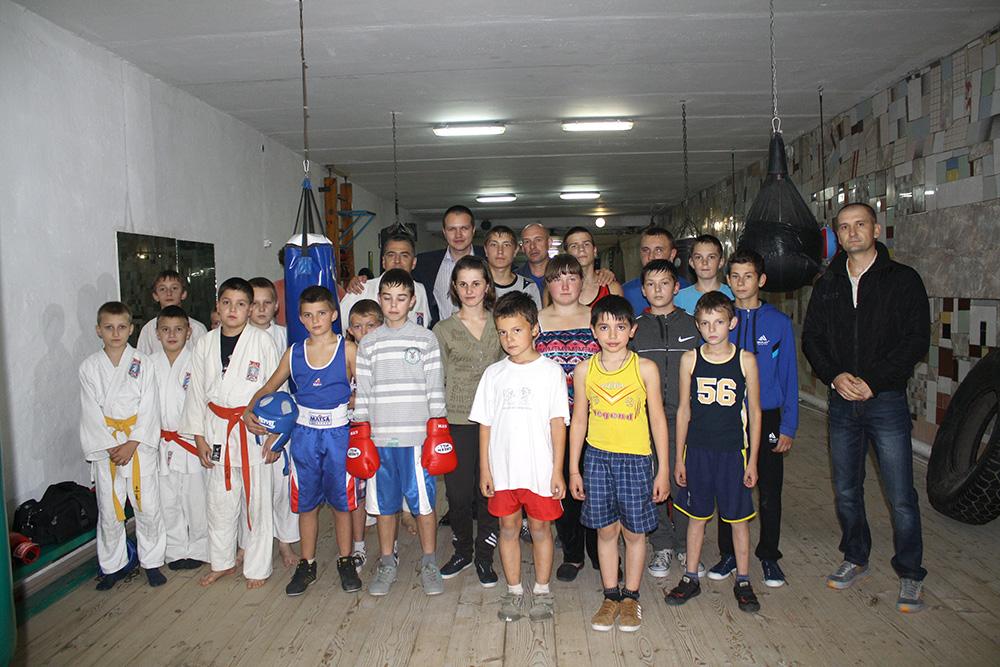 Боксерів привітали з Днем міста