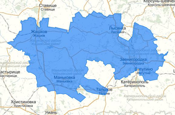 Жашків карта 199 округ