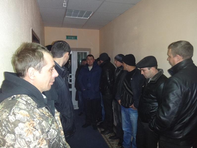 Захищати інтереси учасників АТО приїхали представники фермерського господарства «Степ» Жашків