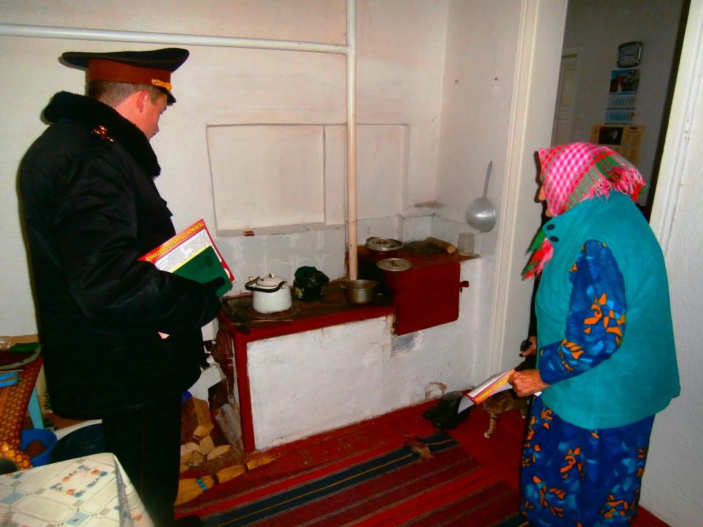 Рятувальники спільно з волонтерами здійснили профілактичний рейд житловим сектором