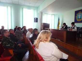 Контроль за діяльністю районної державної адміністрації