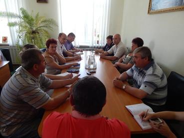 Нарада по питанню майбутнього власника Жашківського цукрового заводу
