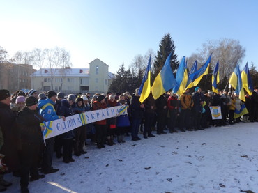 На Жашківчині з почестями зустріли  воїнів, які побували в зоні АТО